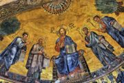 Mosaic of the Basilica of St Paul Outside the Walls